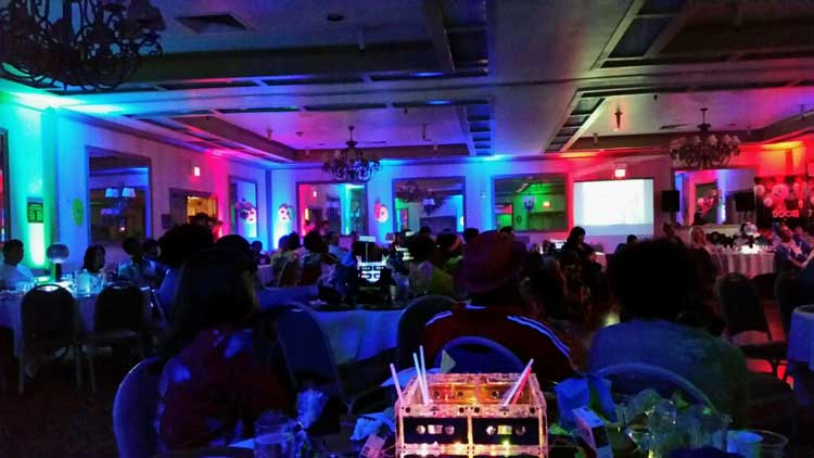 rent wireless uplights with free shipping nationwide for weddings and events