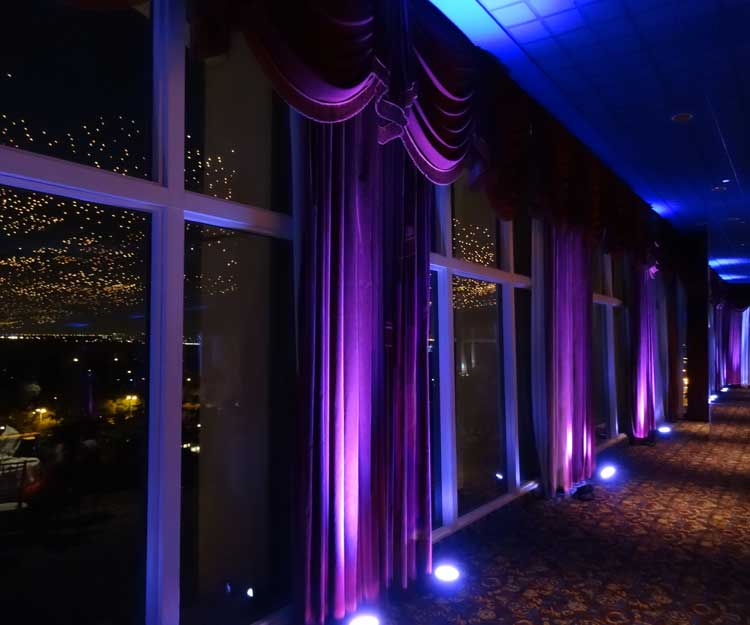 Wireless Uplighting On Curtains Rent Online For 19 Each