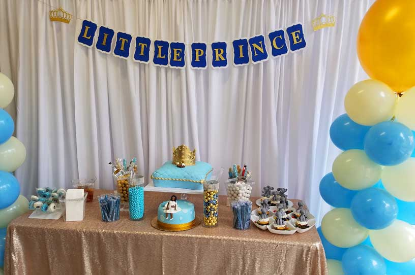 Marvelous Backdrop For Baby Shower