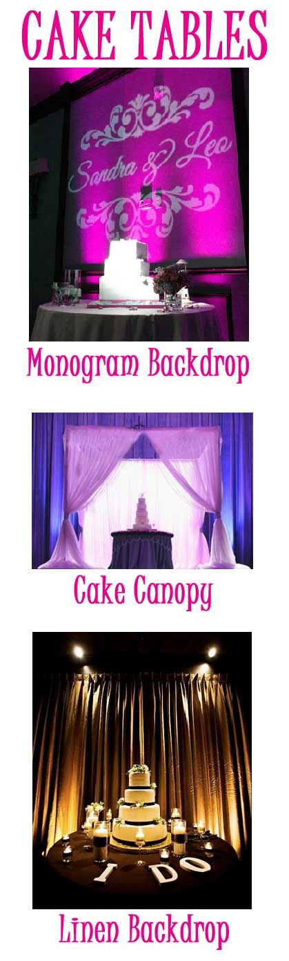 Cake Table Packages