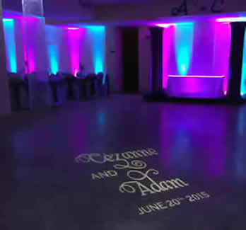 Monogram lighting free shipping nationwide rent my wedding easy diy dance floor monogram free shipping nationwide with rent my wedding easy diy setup solutioingenieria
