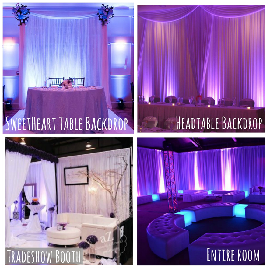 Chicago Pipe and Drape Backdrops with FREE Shipping! || Chicago ...
