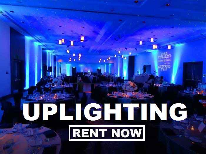 Uplighting Rentals Just 19 Each Plus Free Shipping Both Ways Nationwide With