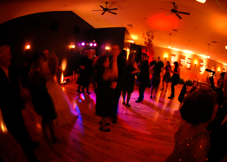 DANCE FLOOR UPLIGHTING! || Rent online at rentmywedding.com. FREE shipping nationwide! Easy DIY setup.