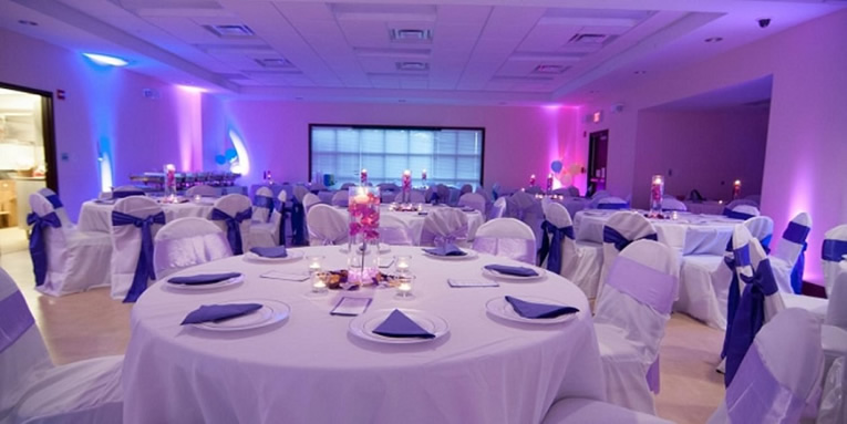 PARTY IDEAS - UPLIGHTING! || Rent online at rentmywedding.com. FREE shipping nationwide! Easy DIY setup.
