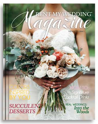Rent My Wedding Magazine for ideas and inspiration