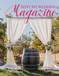 Spring 2018 Cover Rent My Wedding Magazine