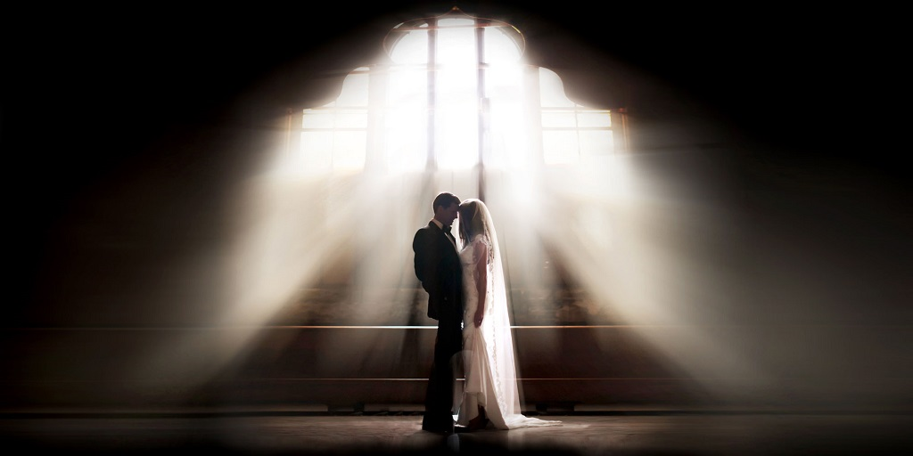 Fine art style of wedding photography