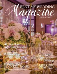 Fall 2017 Cover Rent My Wedding Magazine