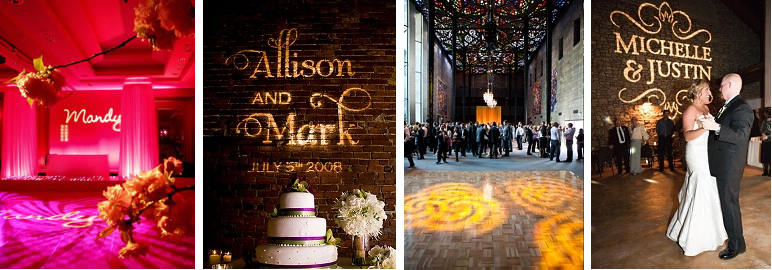 Monogram lighting free shipping nationwide rent my wedding sweet 16 gobo lighting free shipping nationwide with rent my wedding easy diy solutioingenieria