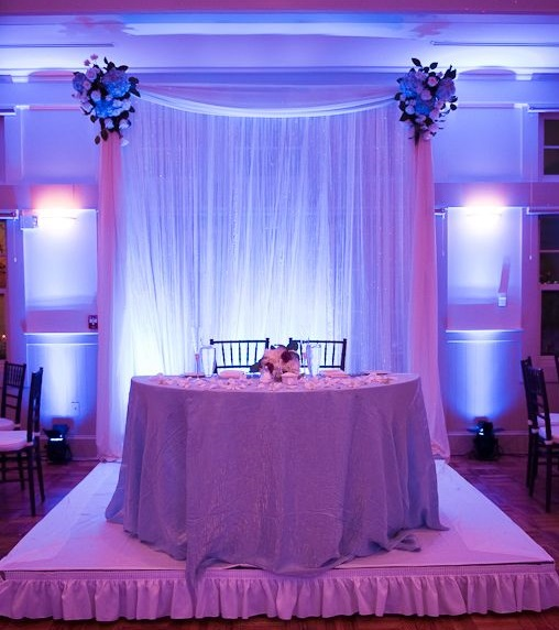 Pipe and Drape Backdrops with FREE Shipping Nationwide for Weddings ...